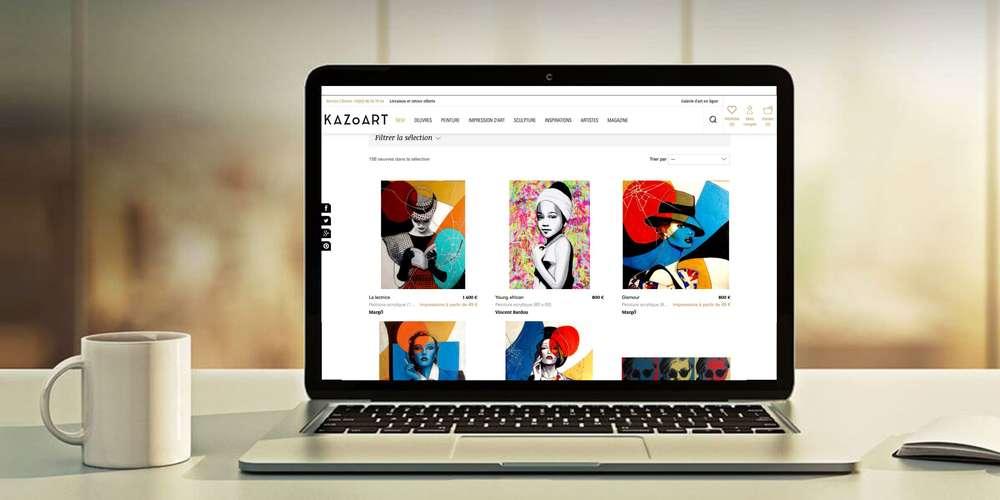vendre des œuvres d'art par internet