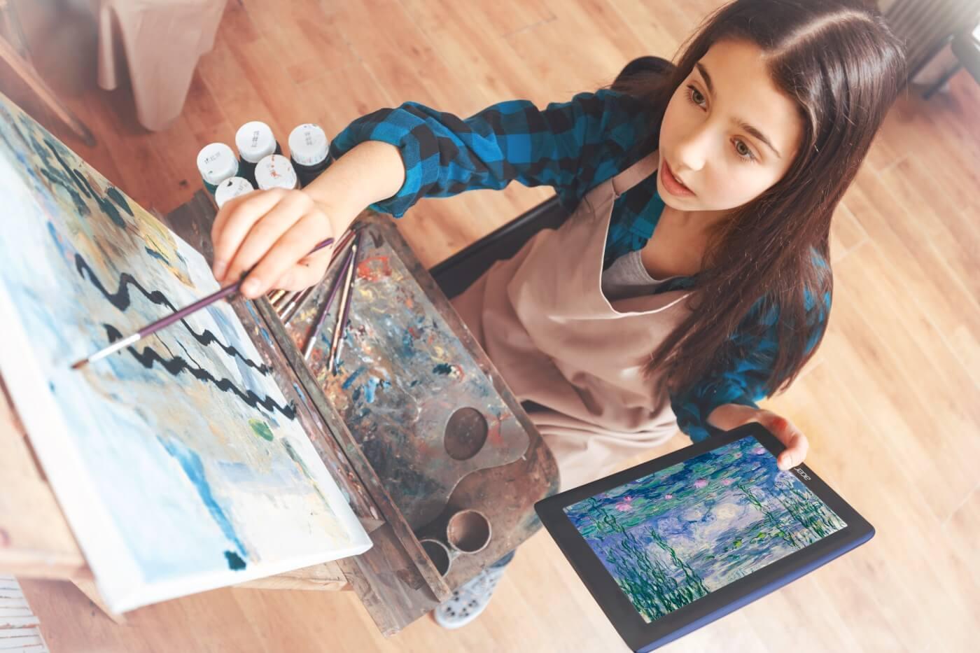 art & technologie evolution